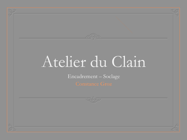 logo Atelier du CLain