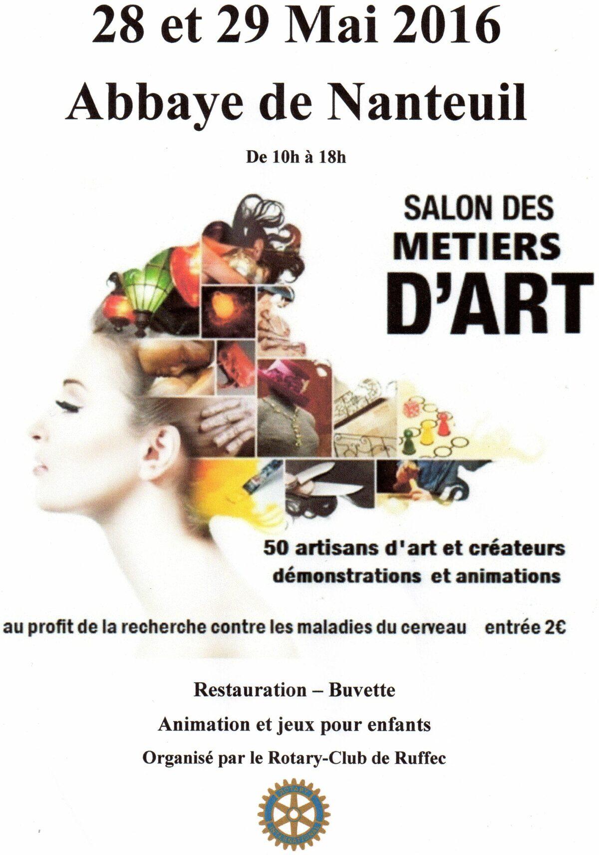 Salon, métiers d'art, Nanteuil-en-vallée, 28 mai 2016, 29 mai 2016, artisans d'art, restaurateur de libre