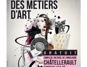 Affiche salon des métiers d'art châtellerault 2016