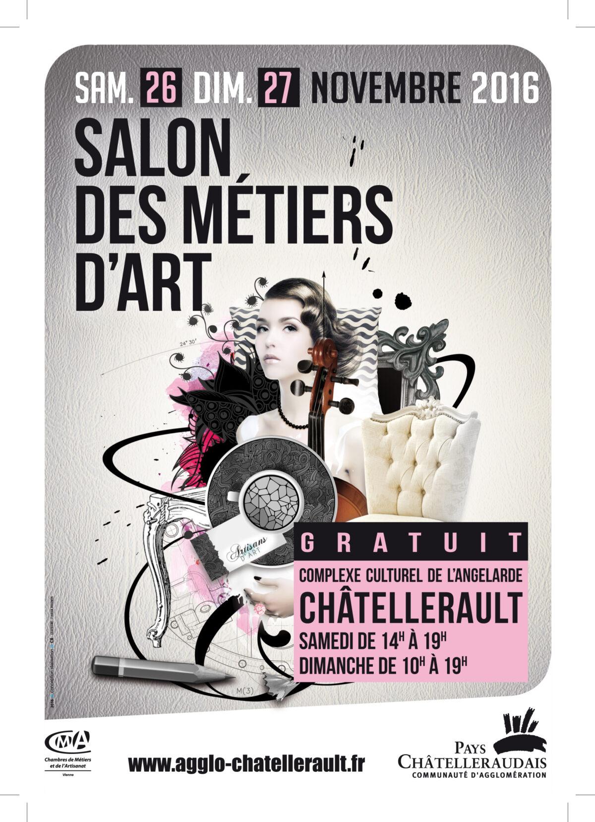le salon des métiers d'art de Châtellerault